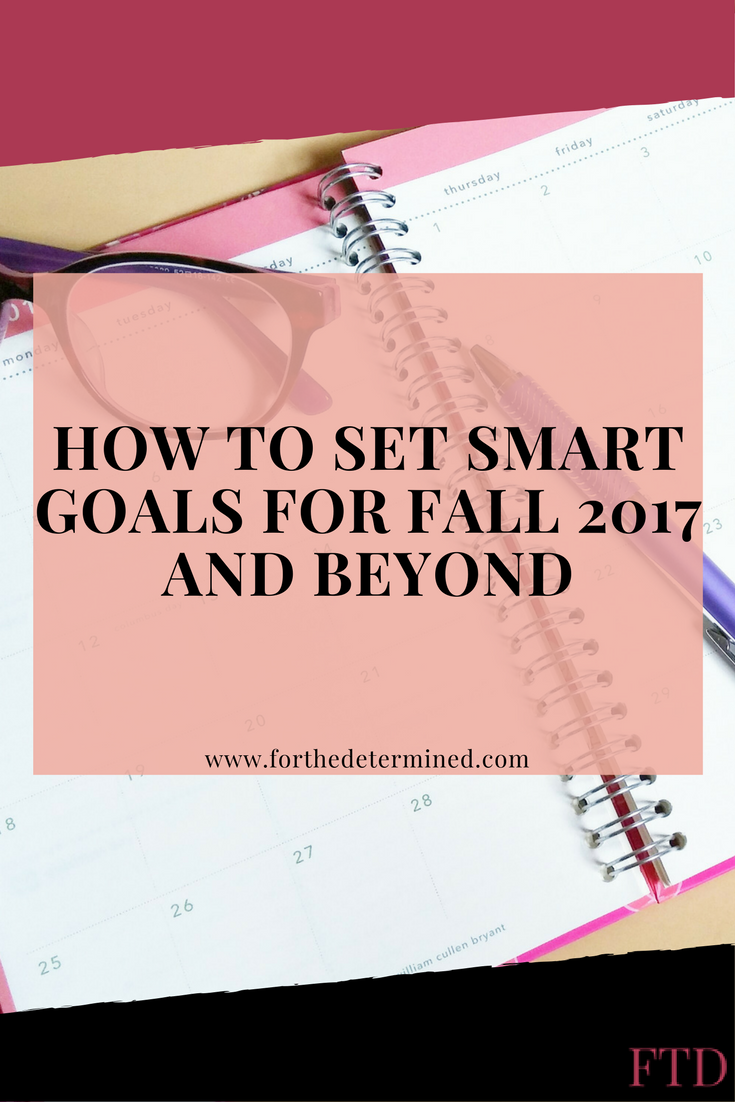 In order to be successful in anything, you have to first set some goals. Some people are unsure of how to achieve those things. Let me help you out!