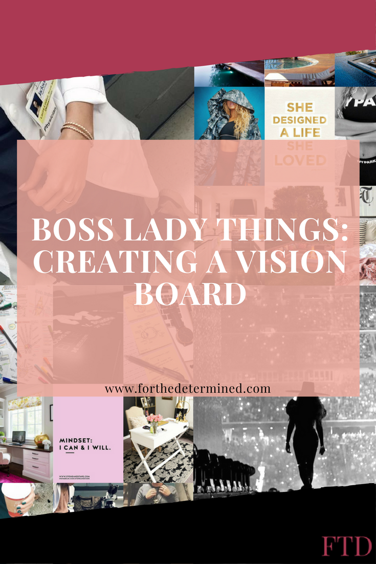 In order to achive a goal, sometimes it's best to be able to visualize it. In this post, I'm sharing how to create your own stunning vision board.