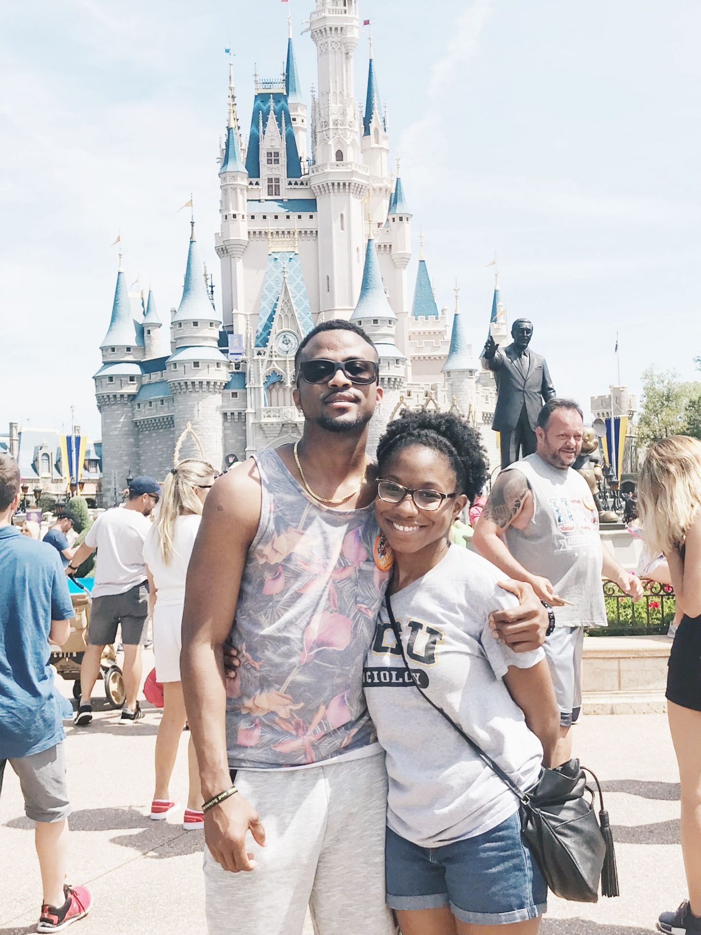 black couple disney world